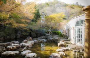 大山崎山荘美術館の庭園の写真素材 [FYI04528382]