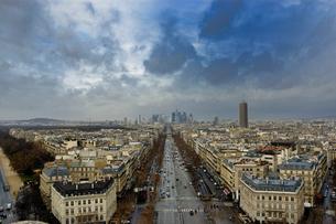フランス パリ 俯瞰した街並みの写真素材 [FYI04528617]