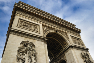 フランス パリ 凱旋門の写真素材 [FYI04528618]