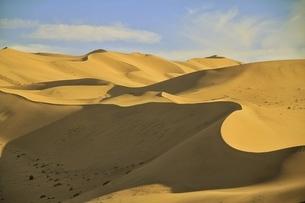 中国 甘粛省 敦煌 シルクロード 砂漠の写真素材 [FYI04529713]