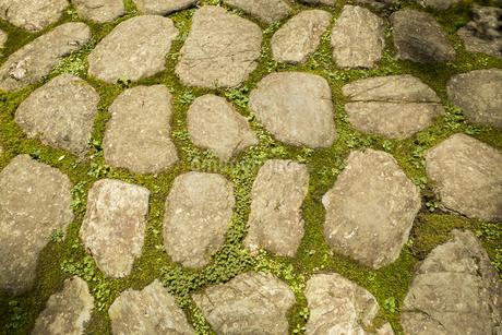 石畳みの写真素材 [FYI04530671]