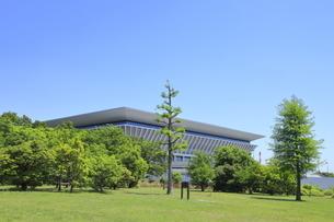 東京アクアティクスセンターの写真素材 [FYI04530684]