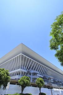 東京アクアティクスセンターの写真素材 [FYI04530693]
