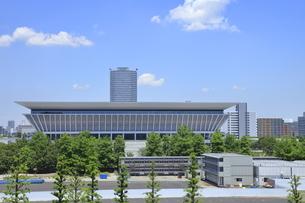 東京アクアティクスセンターの写真素材 [FYI04530695]