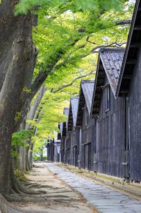山形県 山居倉庫の写真素材 [FYI04531549]