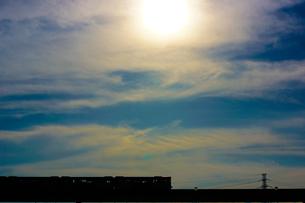 立日橋を走る多摩モノレールの写真素材 [FYI04532154]