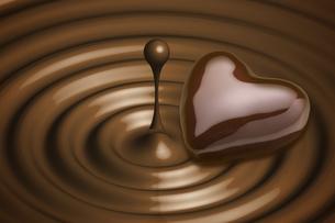 ハートのチョコレートの写真素材 [FYI04532675]