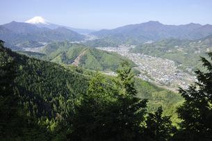 九鬼山からの富士山眺望の写真素材 [FYI04533134]