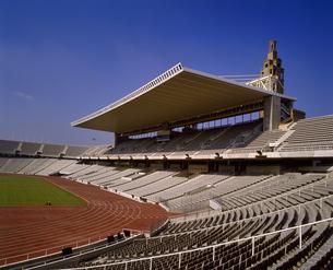 スペイン バルセロナ オリンピックスタジアムの写真素材 [FYI04534213]