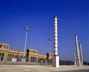スペイン バルセロナ オリンピックスタジアムの写真素材 [FYI04534214]