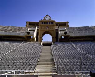 スペイン バルセロナ オリンピックスタジアムの写真素材 [FYI04534216]