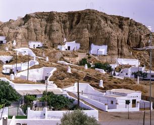 スペイン グアディクスの横穴式住居の写真素材 [FYI04534218]