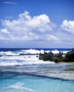 ミクロネシア連邦 ロタ島 スイミングホールの写真素材 [FYI04534365]