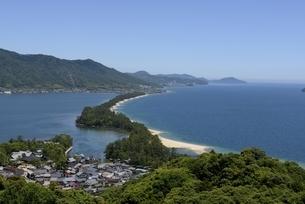 天橋立ビューランドから日本三景天橋立を見るの写真素材 [FYI04535118]