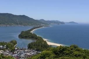 天橋立ビューランドから日本三景天橋立を見るの写真素材 [FYI04535139]