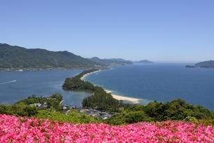天橋立ビューランドから日本三景天橋立を見るの写真素材 [FYI04535140]