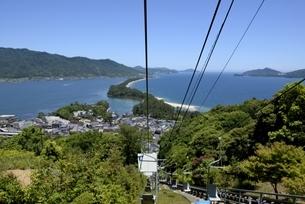 天橋立ビューランドから日本三景天橋立を見るの写真素材 [FYI04535147]