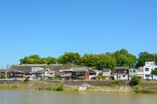 関西の街並み 三木市 三木城跡と町並みの写真素材 [FYI04535571]