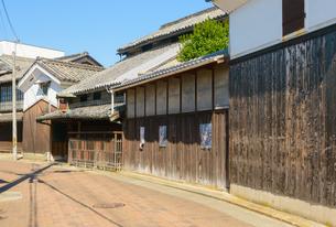 関西の街並み 三木市の古い町並みの写真素材 [FYI04535576]