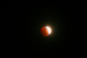 皆既月食の写真素材 [FYI04536020]