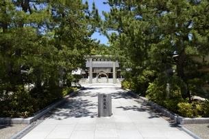 元伊勢籠神社参道の写真素材 [FYI04536522]