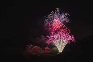 小樽の花火の写真素材 [FYI04536535]