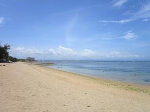 インドネシア、バリ島、サヌールの写真素材 [FYI04537141]
