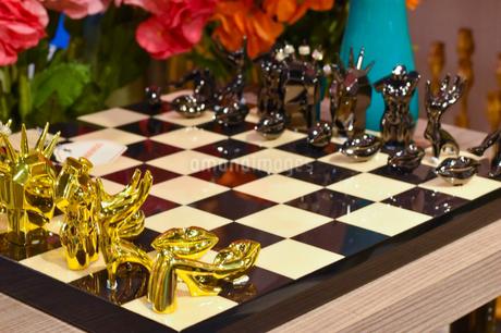 おしゃれなチェスの写真素材 [FYI04537338]