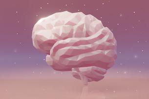 脳,星空,夢,brain,star,dream,pinkのイラスト素材 [FYI04537438]