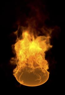 火の玉のイラスト素材 [FYI04537986]