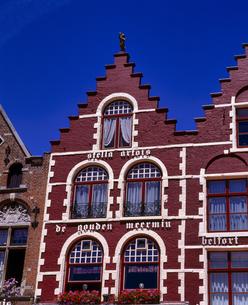 ベルギー ブルージュ 古い建物の写真素材 [FYI04538010]