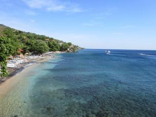 インドネシア、バリ島、アメッドの写真素材 [FYI04538197]