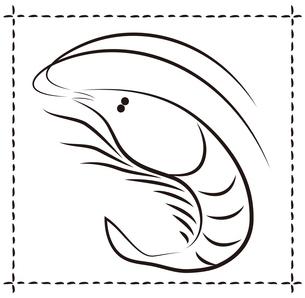 桜えび イラストのイラスト素材 [FYI04538272]