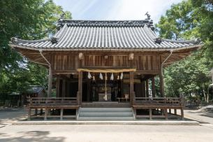 浮島神社 愛媛県 東温市 の写真素材 [FYI04538501]