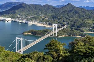 しまなみ海道の伯方・大島大橋の写真素材 [FYI04538599]