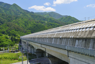山梨県 リニアモーターカーのトンネル区間の写真素材 [FYI04538878]