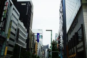 東京 銀座のイメージの写真素材 [FYI04538953]