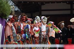 押立神社 ドケ祭りの写真素材 [FYI04539545]