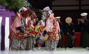 押立神社 ドケ祭りの写真素材 [FYI04539546]
