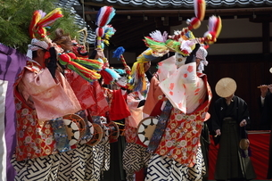 押立神社 ドケ祭りの写真素材 [FYI04539547]