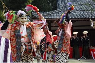 押立神社 ドケ祭りの写真素材 [FYI04539549]