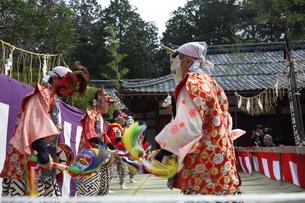 押立神社 ドケ祭りの写真素材 [FYI04539550]