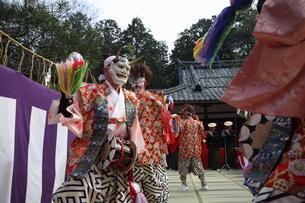 押立神社 ドケ祭りの写真素材 [FYI04539551]