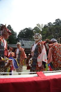 押立神社 ドケ祭りの写真素材 [FYI04539552]