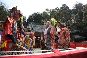 押立神社 ドケ祭りの写真素材 [FYI04539553]