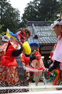 押立神社 ドケ祭りの写真素材 [FYI04539555]
