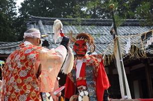 押立神社 ドケ祭りの写真素材 [FYI04539556]