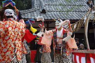 押立神社 ドケ祭りの写真素材 [FYI04539557]