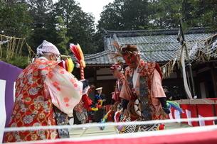 押立神社 ドケ祭りの写真素材 [FYI04539558]