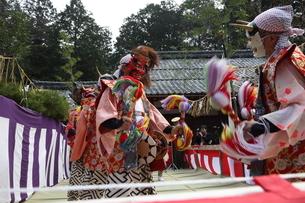 押立神社 ドケ祭りの写真素材 [FYI04539560]